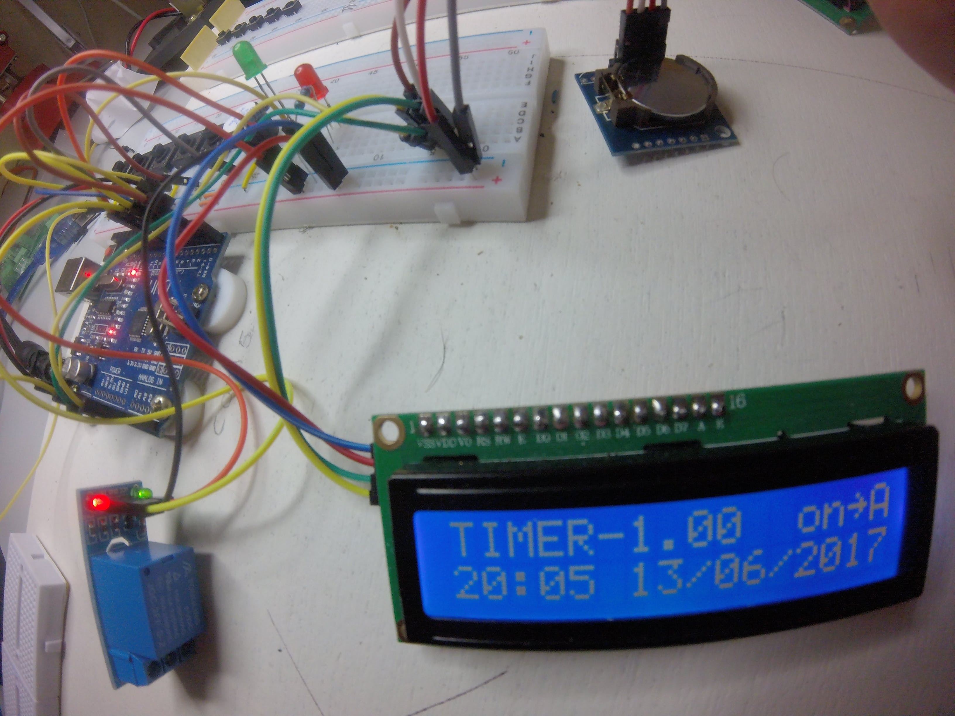 Alarm Clock and Timer Working Standalone