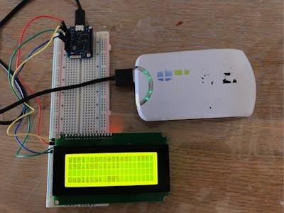 Arduino WiFi Quality Signal Display