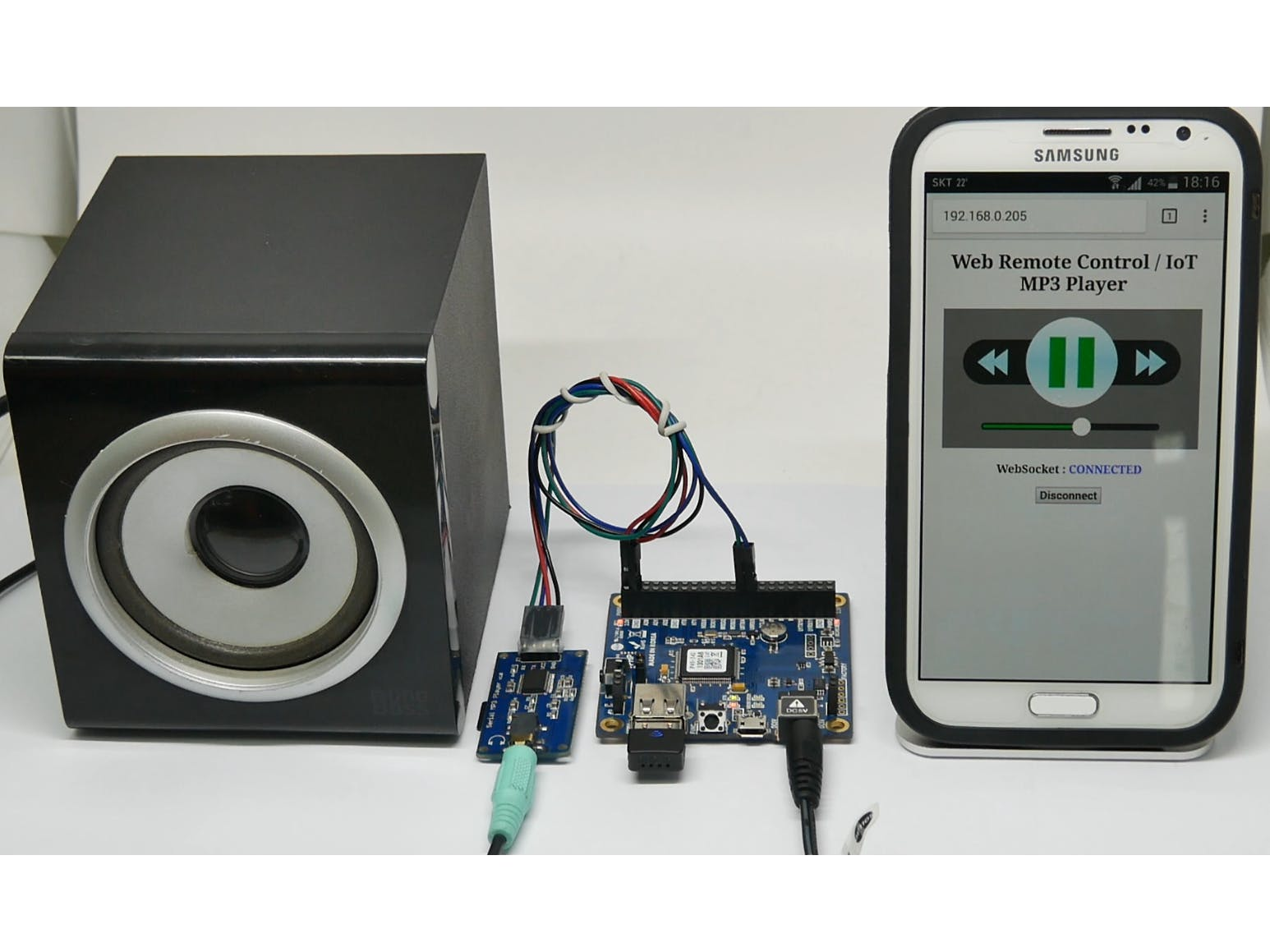 PHPoC - Web-Based MP3 Player