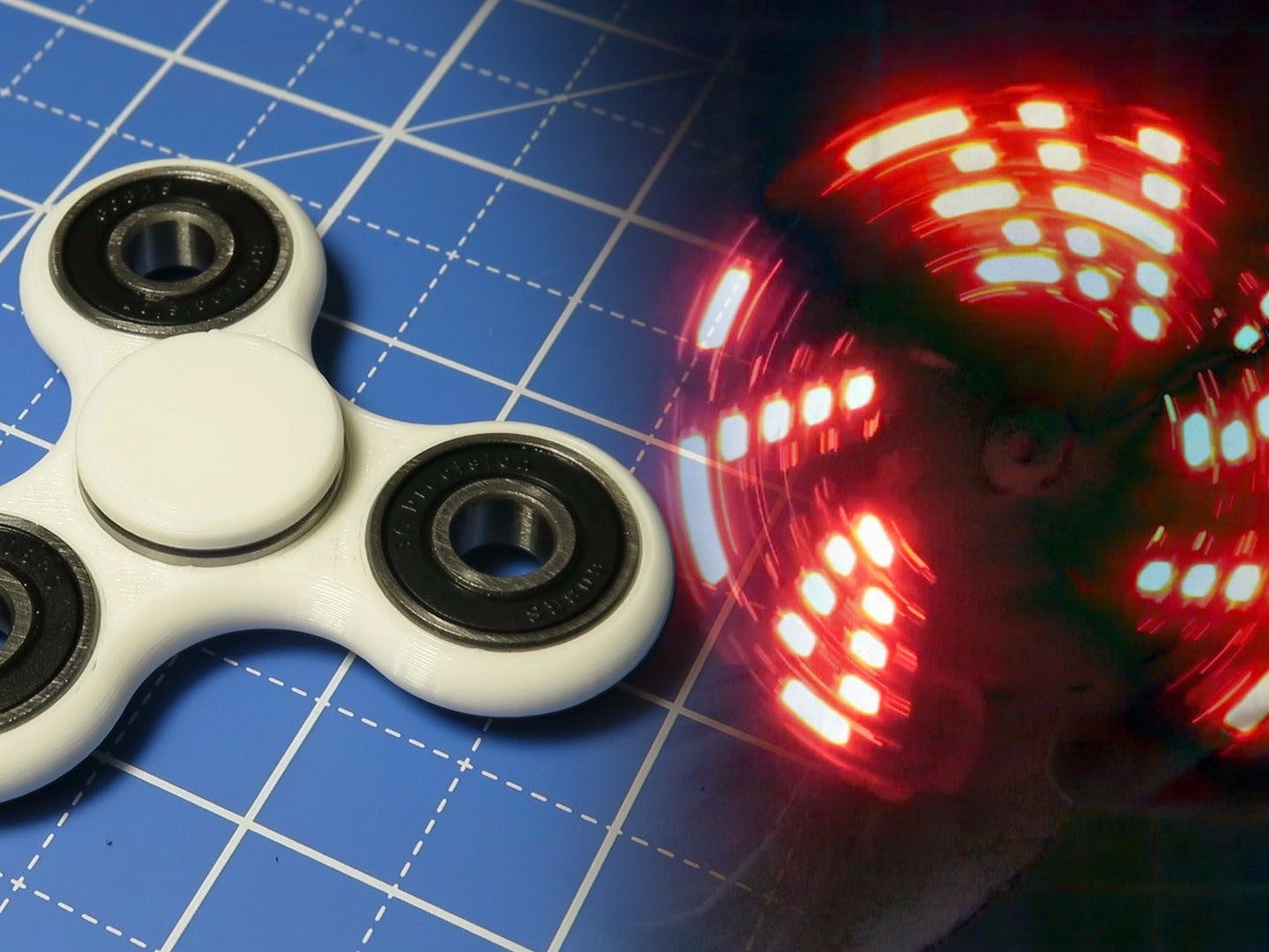 DIY Fidget LED Display