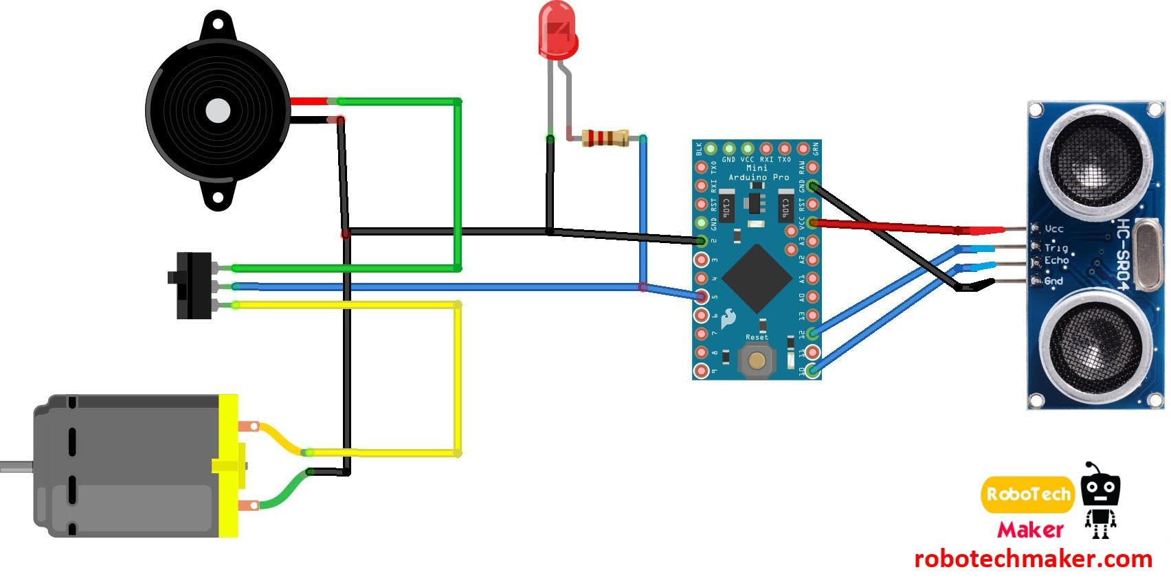 Make A Vibration Detector Meter Circuit Electronic Circuit Projects