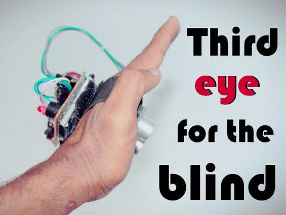 Third Eye For The Blind Arduino Project Hub