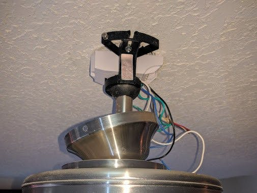Wifi controlled ceiling fan - Hackster io