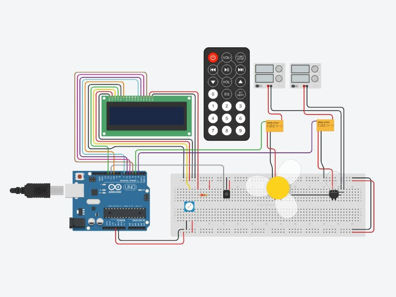 Arduino: Switching ON/OFF Appliances Using IR Remote