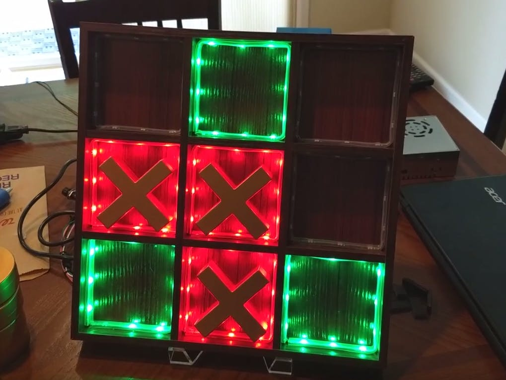 Tic-Tac-Toe with Teensy