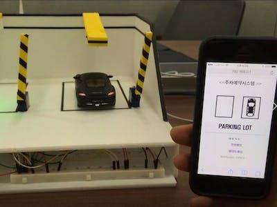 Parking Lot IoT System