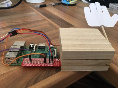 High Five Machine with Android Things and Firebase