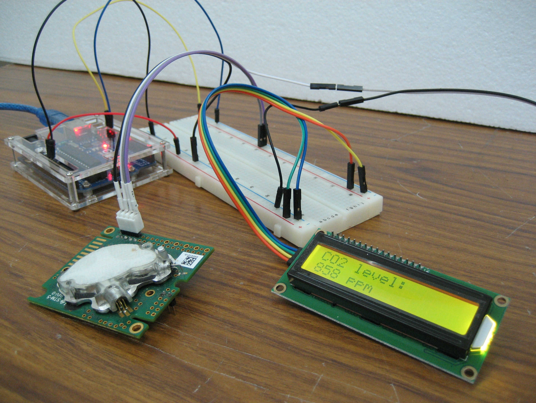 Co2 Sensor Wiring Diagram Blog About Diagrams Pirsensorwiringdiagram Monitoring With K30 Arduino Project Hub Ntk Oxygen Wire