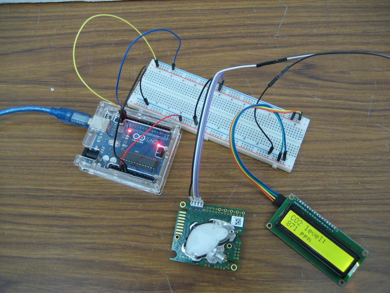 Co2 Monitoring With K30 Sensor Arduino Project Hub Wiring Diagram