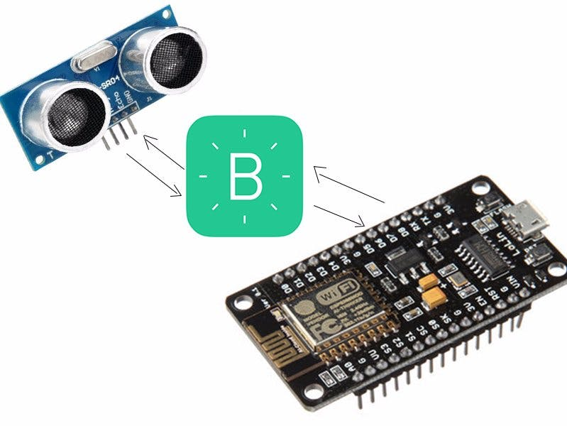 Ultrasonic sensor with blynk and NodeMcu