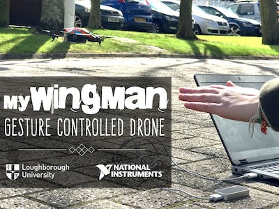 myWingman: Gesture Controlled Drone