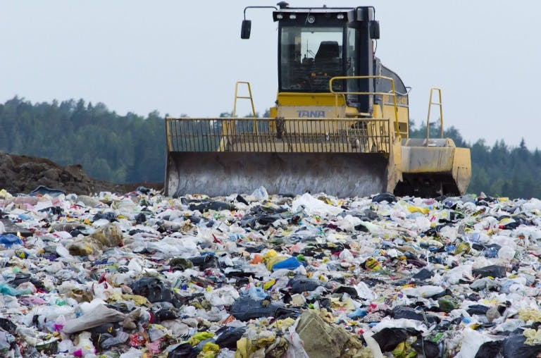 Landfills are full of materials than can be recycled and composted