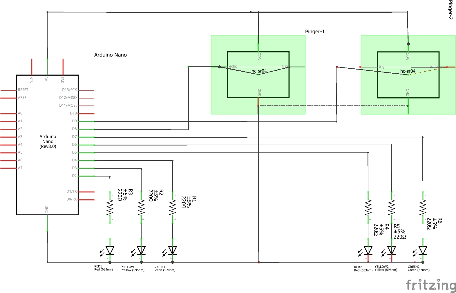 Crossroad Traffic Lights Fsm Signal Sequential Timer Circuit Project Connections Okt6rr5mgw