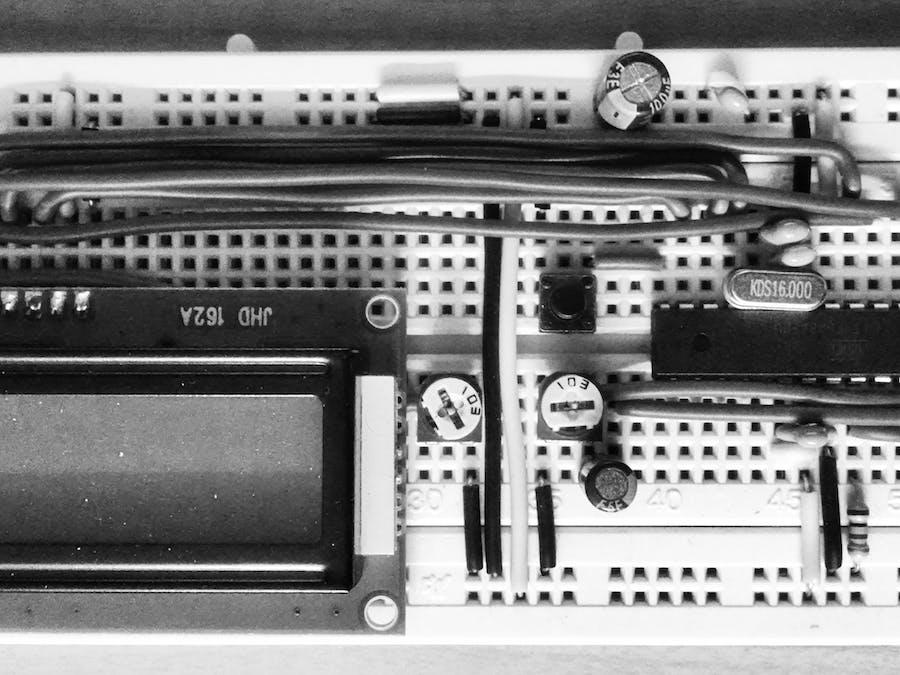 DFT Audio Analyser