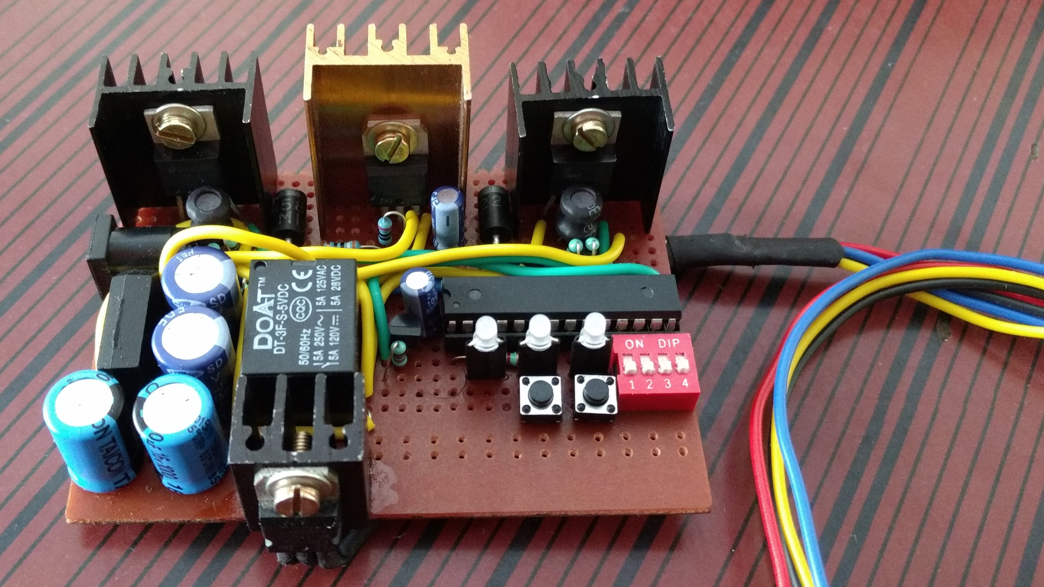 Protected Switching Power Supply for Development Boards