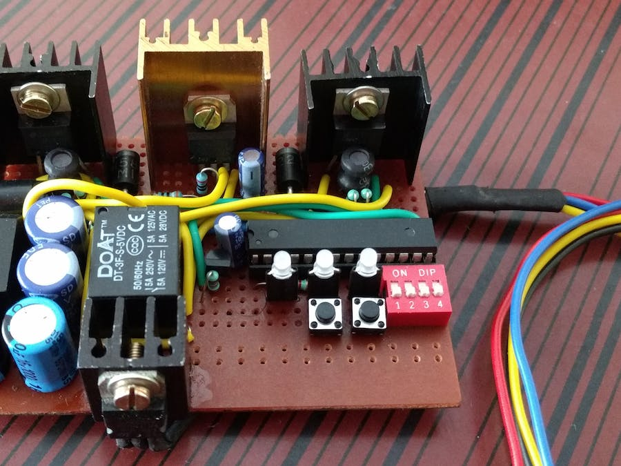 Protected Switching Power Supply for Development Boards - Hackster.io