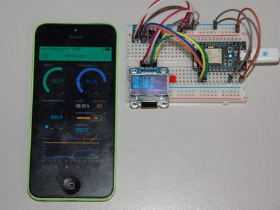 MyHumidity Controlled by BME280 and Photon