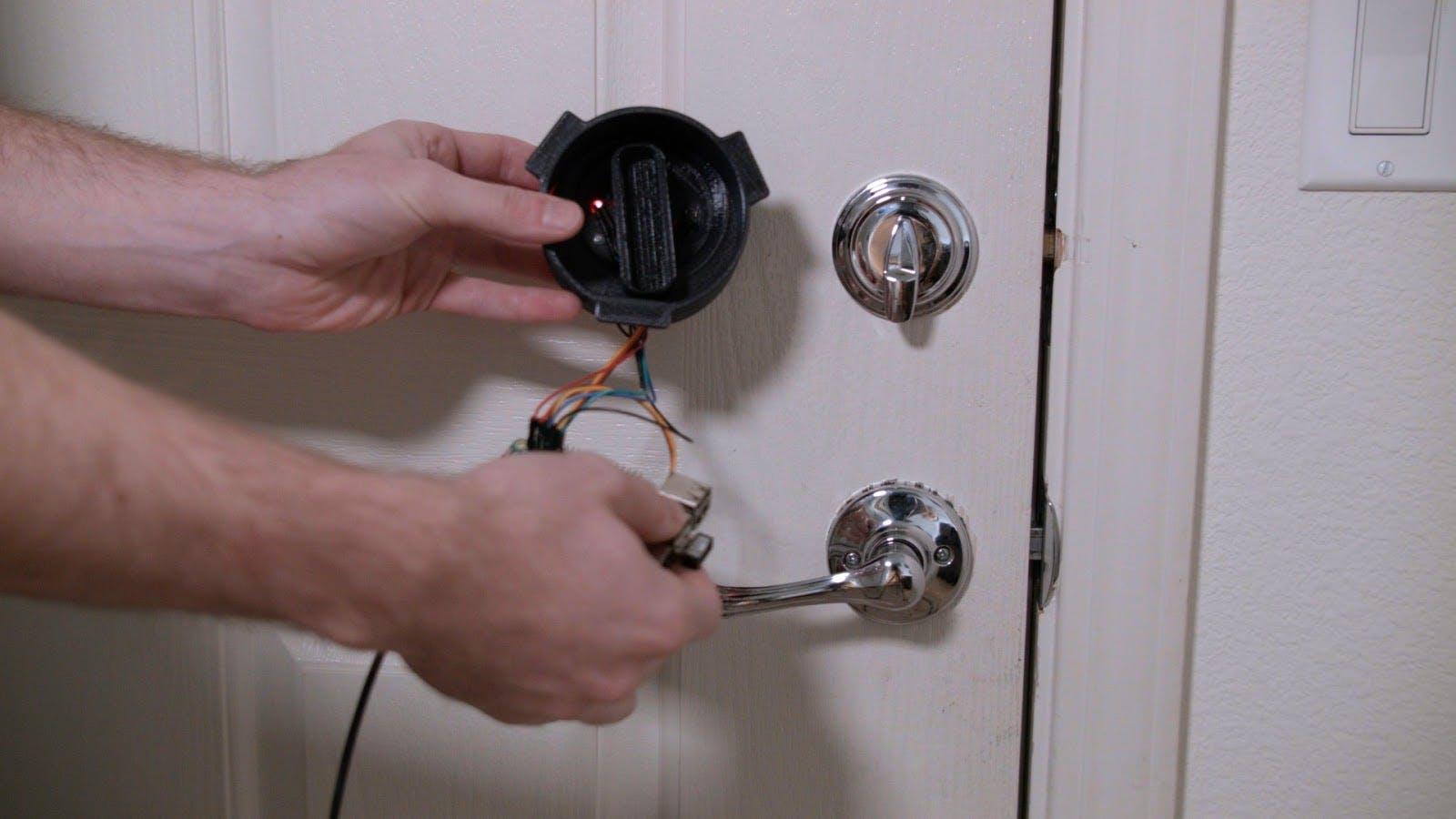 Smartphone Connected Home Door Lock