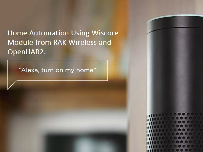 Home Automation Using WisCore and OpenHab