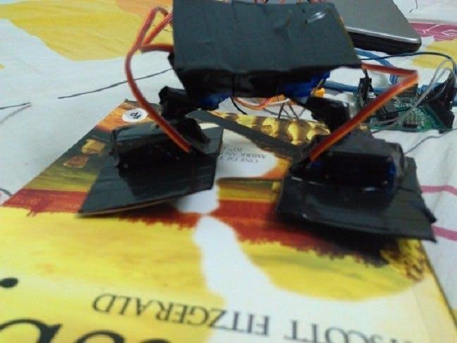 Biped Arduino Robot