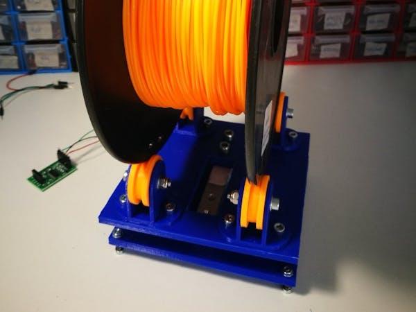 D printer filament monitor for arduino hackster