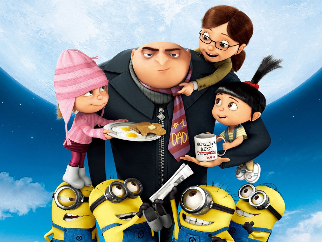 Despicable Me Character Description - Alexa