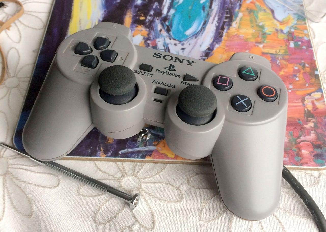 Playstation One Analog Sticks With Arduino Dualshock 2 Wiring Diagram