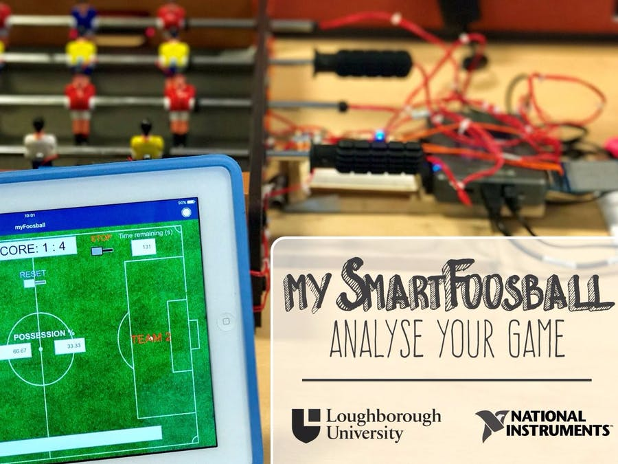 mySmartFoosball: Analyse Your Game!