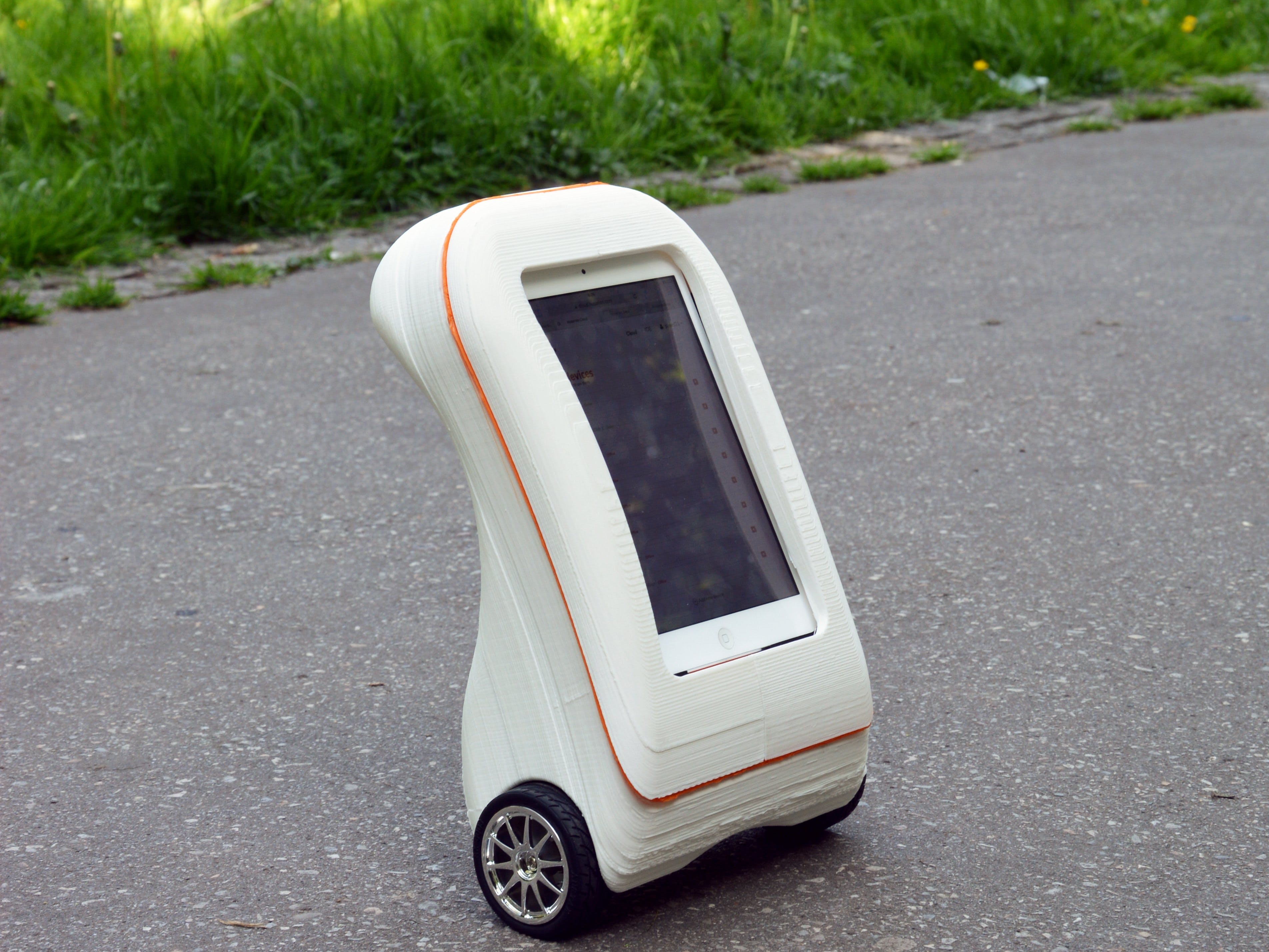 3D-Printed, Internet-Controlled, Self-Balancing FPV Robot