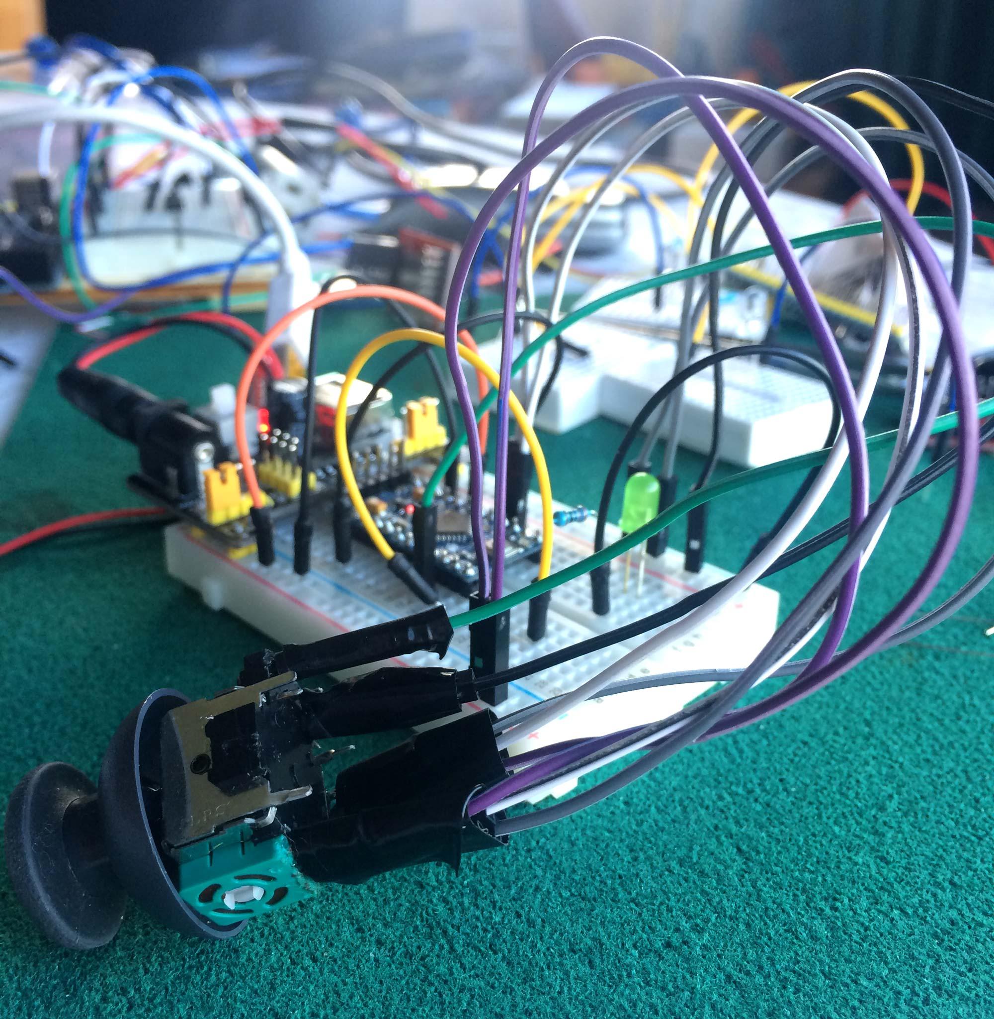 Analog Joystick Wiring Diagram Schematic Electronic 93 Chevy Suburban 2500 454 Starter