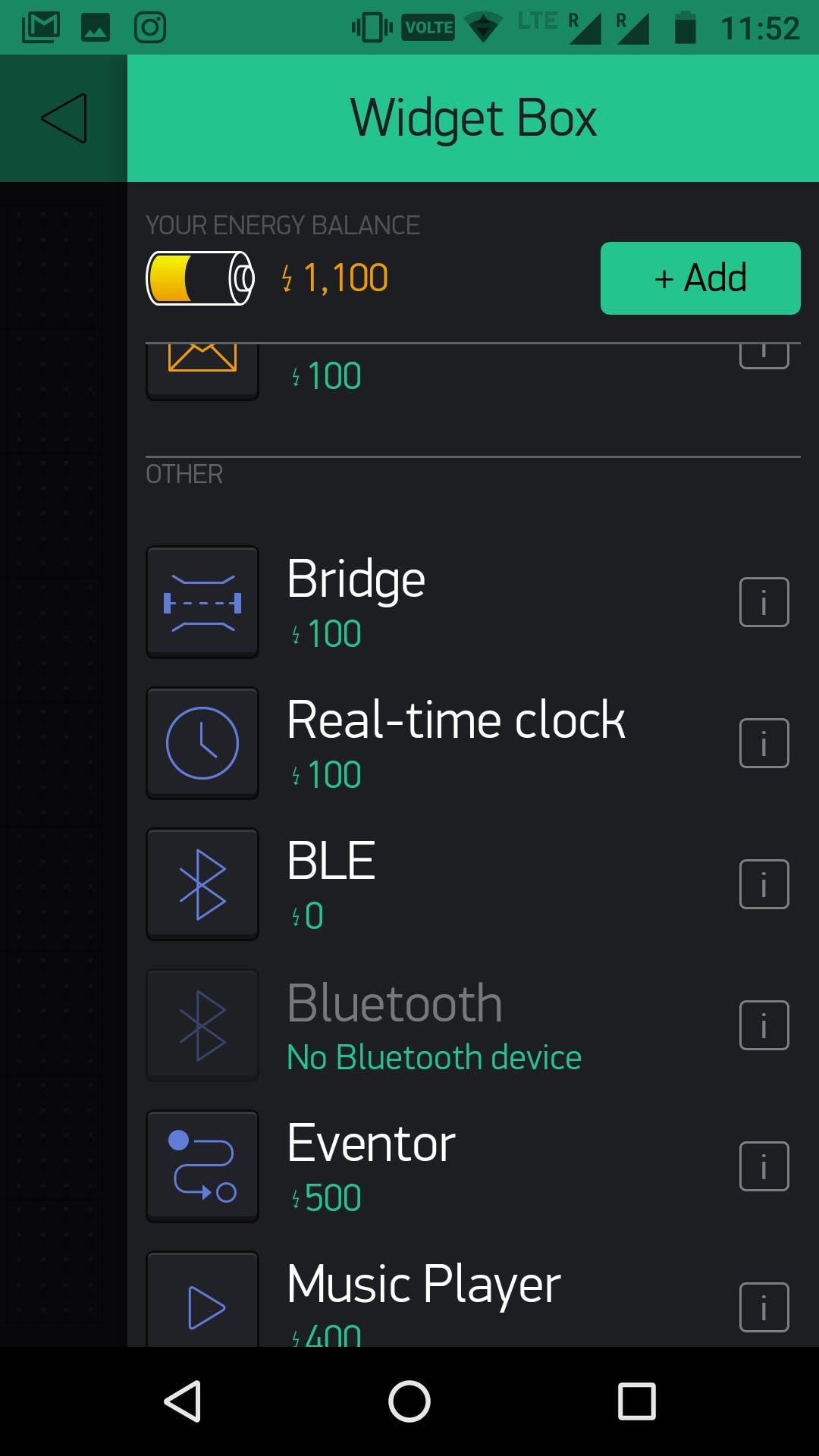 Select BLE