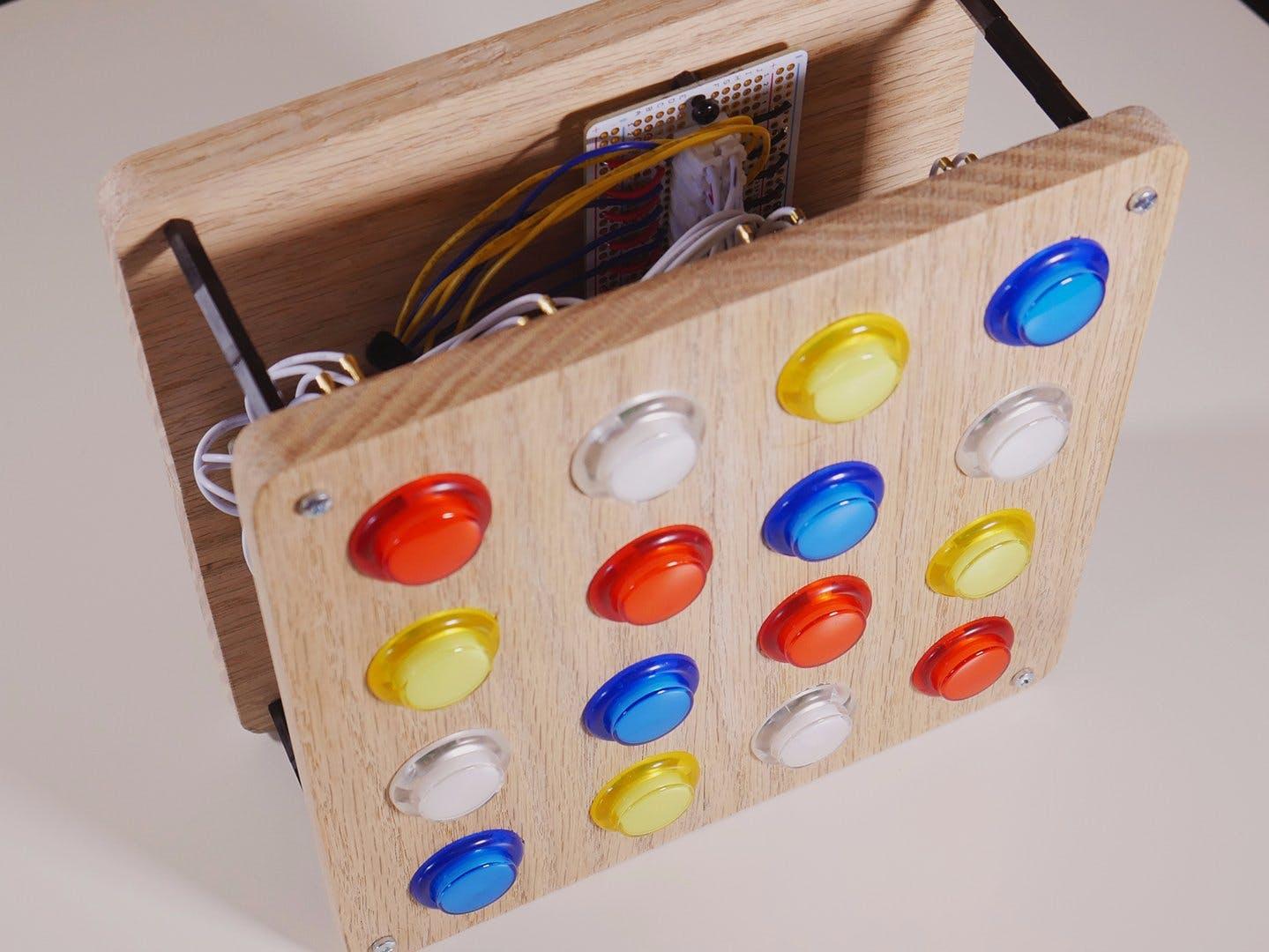 Arduino MIDI Fighter