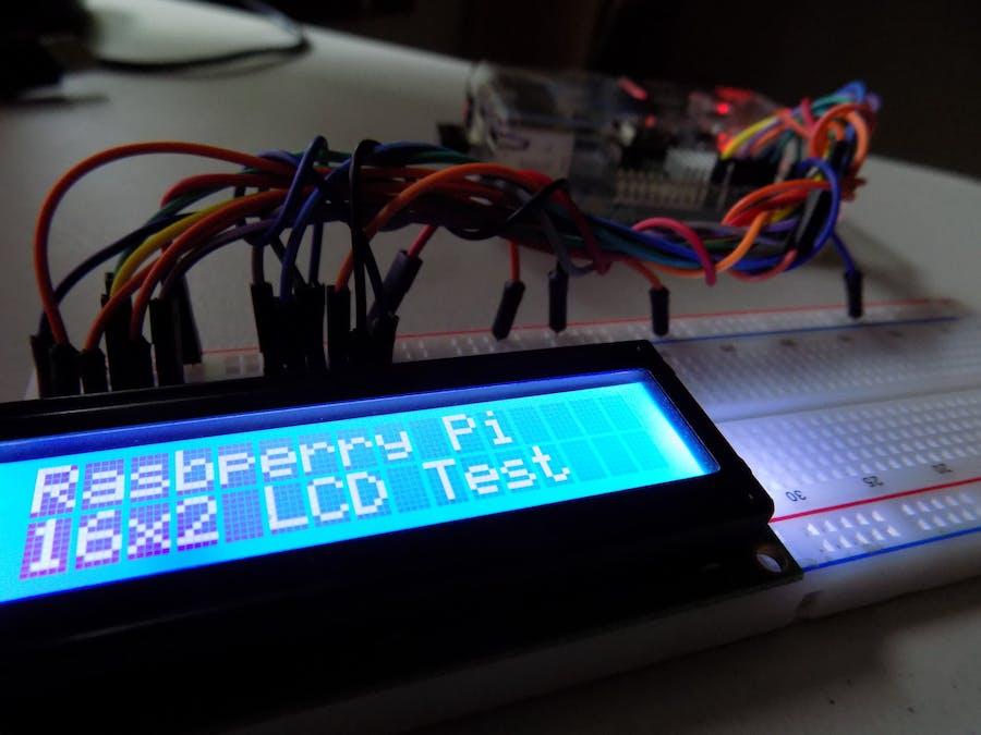 Raspberry Pi LCD screen