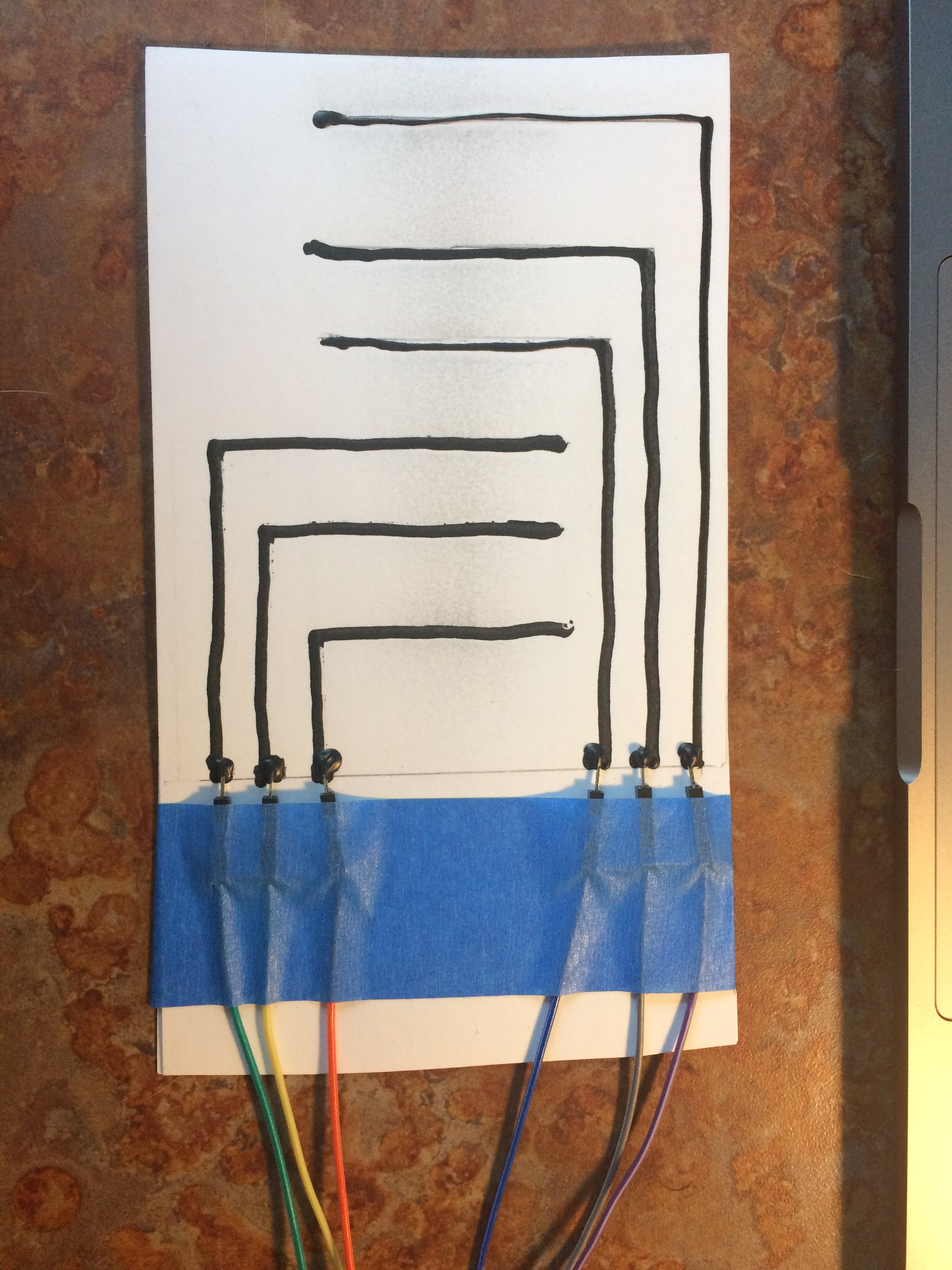 Conductive Paint Switch