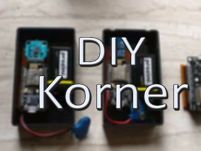 DIY Korner Home Security System