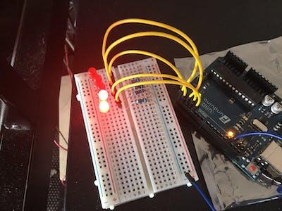 5 Blinking LEDs
