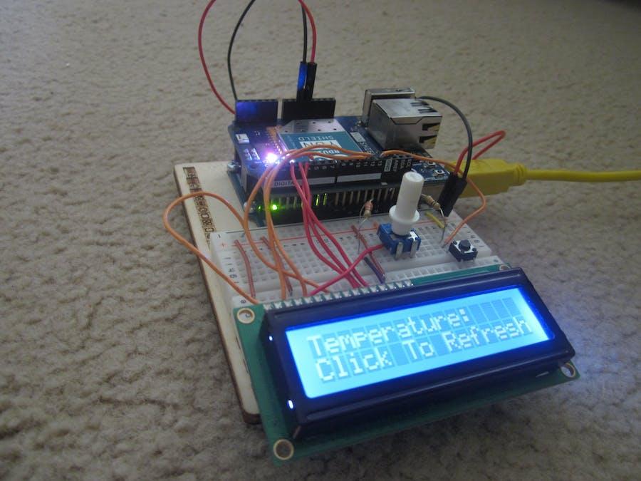 Portable Temperature Station V2: IOT Edition