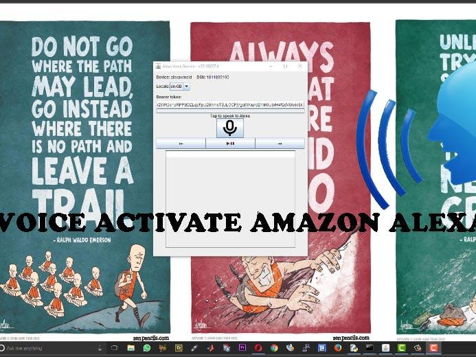 Voice Activate Amazon Alexa on Windows PC with Wake Word
