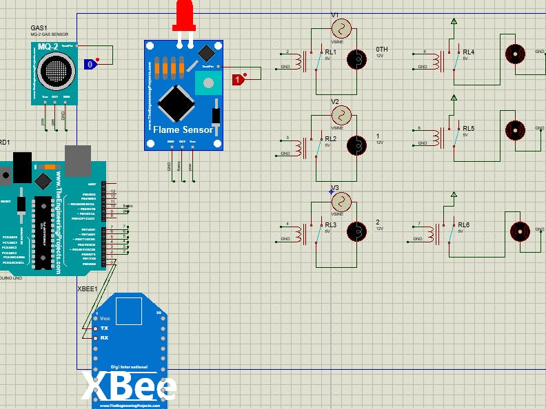 Home Automation Using XBee and Arduino