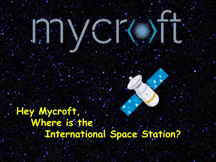Hey Mycroft, Where Is the International Space Station?