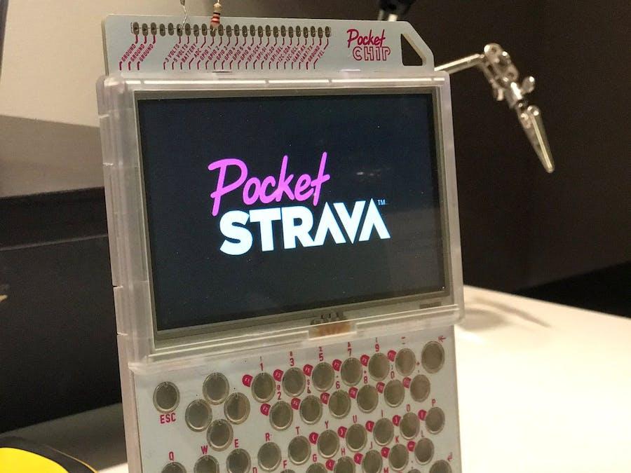 PocketStrava: Strava on Your PocketC.H.I.P.!