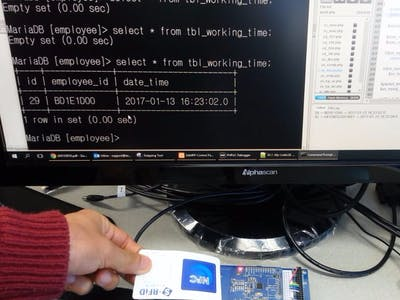 Monitoring Working Time of Employees Using RFID