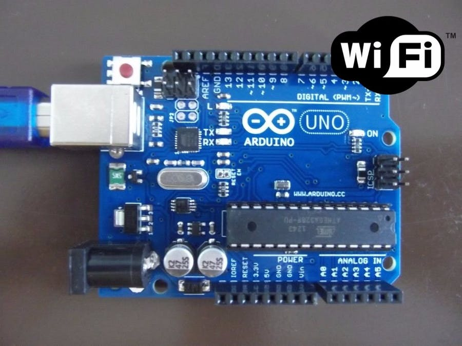 Add wifi to arduino uno hackster