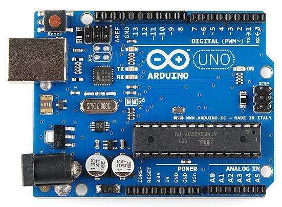 Creating a virtual world using arduino and python
