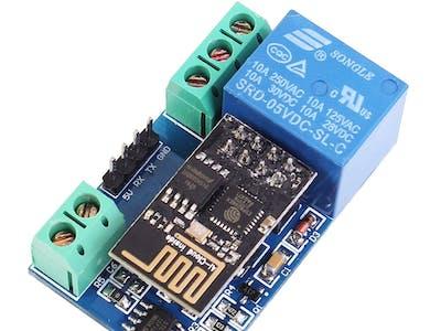 ESP8266 WiFi 5V 1 Channel Relay Delay Module IoT Smart Home