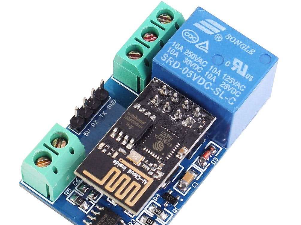 esp8266 wifi 5v 1 channel relay delay module iot smart
