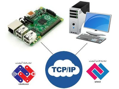 Connect Raspberry pi and PC with TCP/IP using Csharp