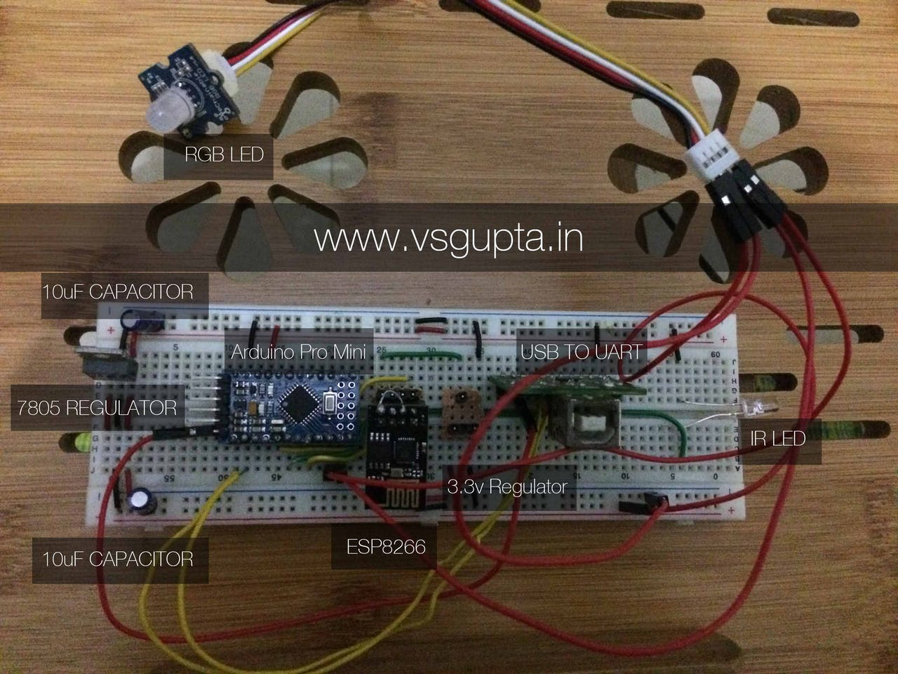 Controlling Rgb Led Strip With Google Home Wiring Arduino