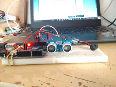 Parking Sensor with Arduino