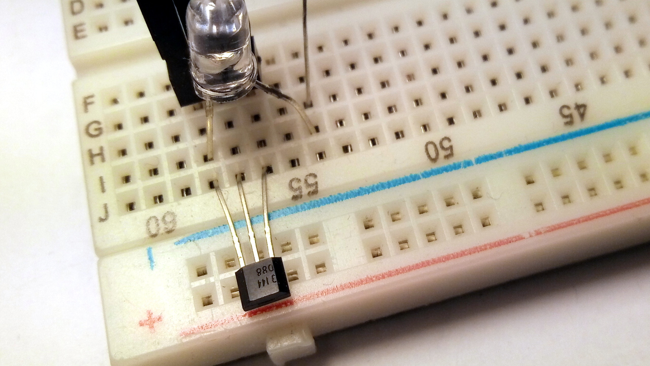 Electric Tachometer Hall Effect Sender